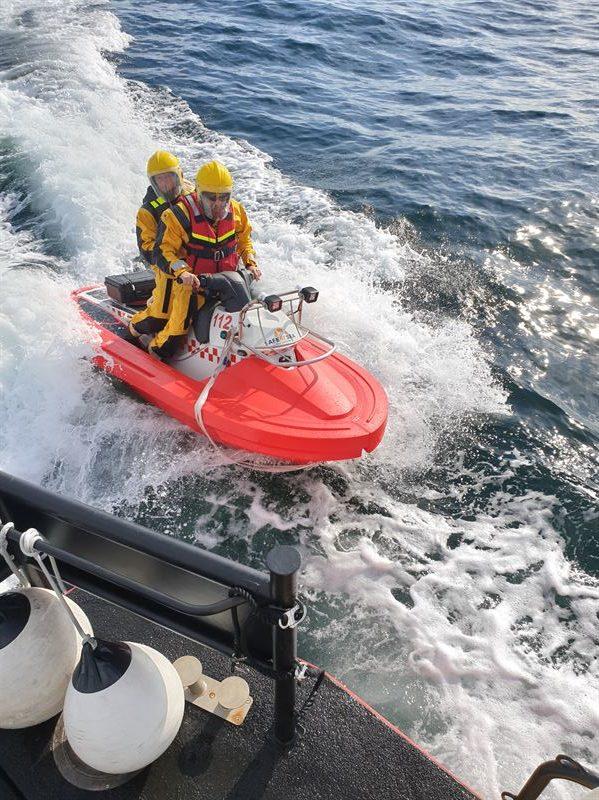 Spanish Distributor Brocado Solutions tests RescueRunner System