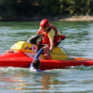 Hrvatski Crveni Kriz in action with their RescueRunner.
