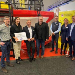 RescueRunner Donation to SSRS by Imatech Båtkusten Volvo Penta