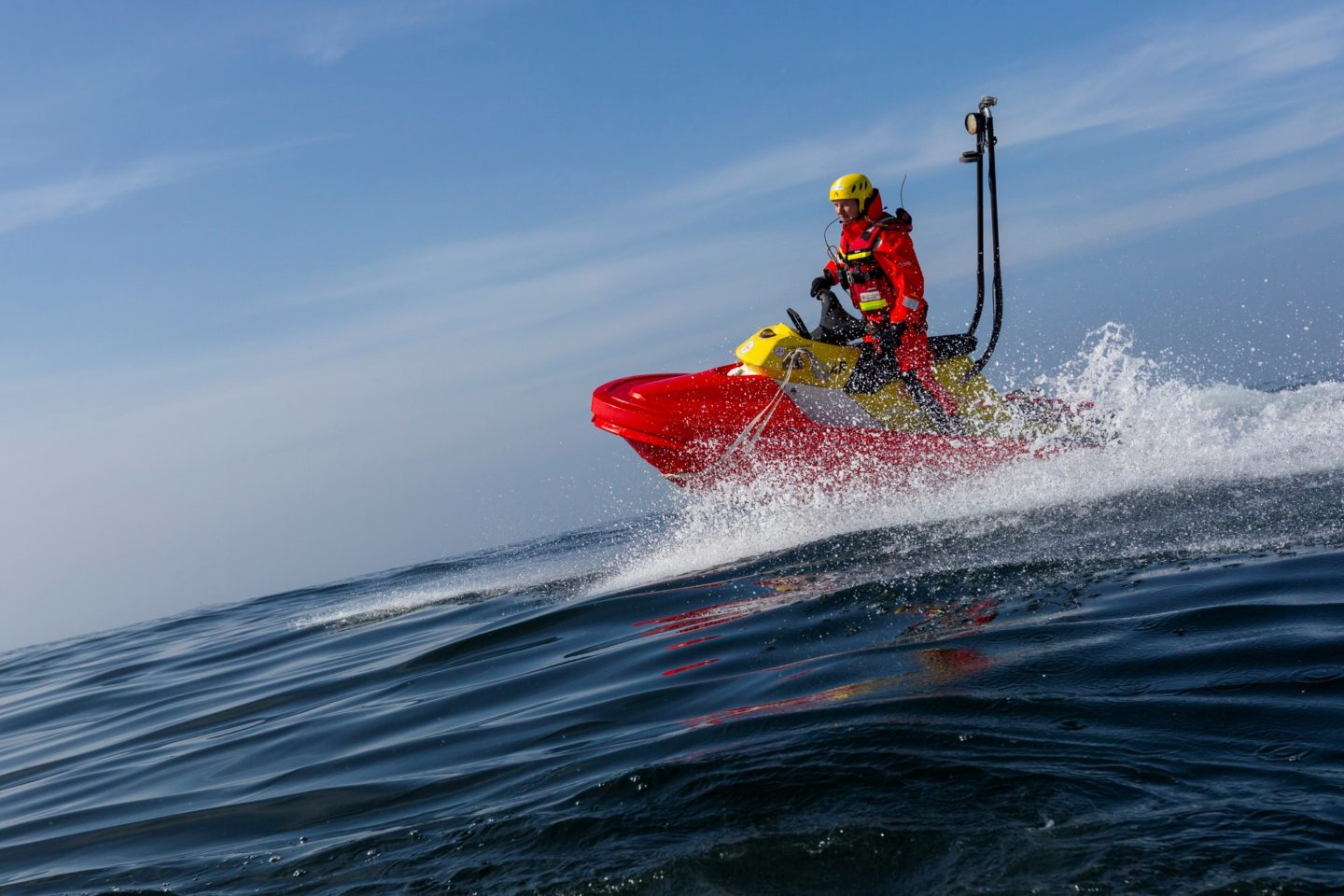 Swedish Sea Rescue Society on a mission with RescueRunner