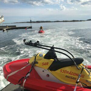 Swedish Sea Rescue Society RescueRunner Training
